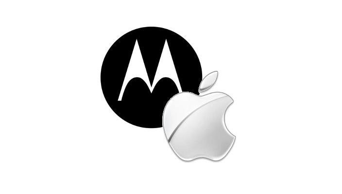 Перемирие между Apple и Motorola