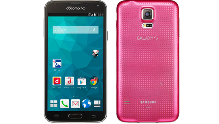 В Японии представлен розовый Samsung Galaxy S5