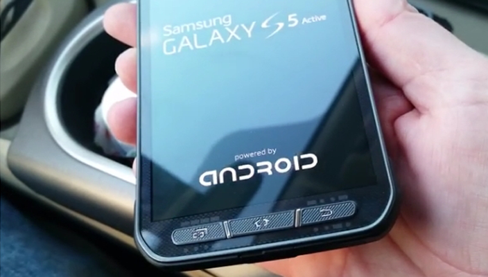 Samsung Galaxy S5 Active появился на видео