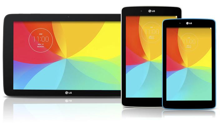 Новые планшеты от  LG
