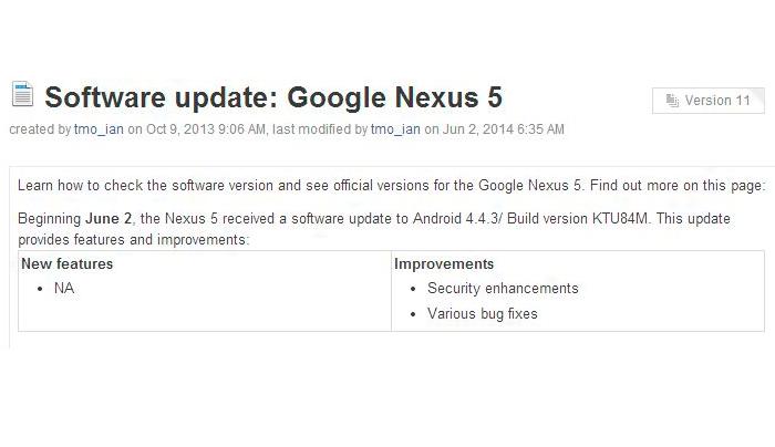 Очередной выход Android 4.4.3