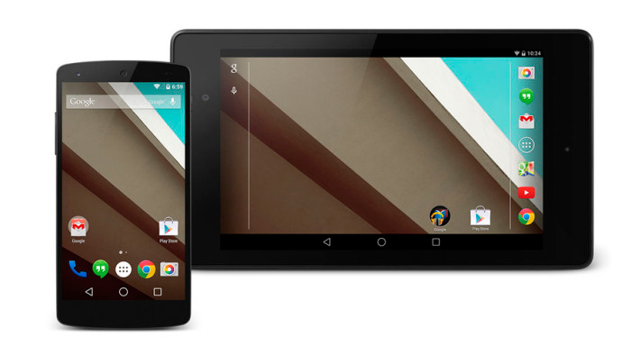 Android L Developer Preview рутировали