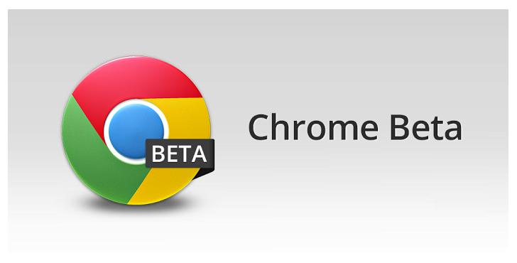 Chrome Beta с Material Design