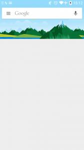 Google Now без подсказок