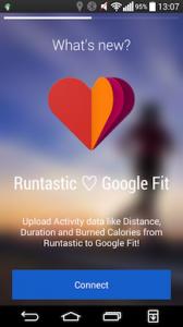 Runtastic Google Fit