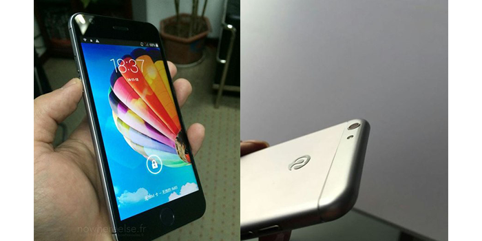 iPhone? Нет, это Android-смартфон