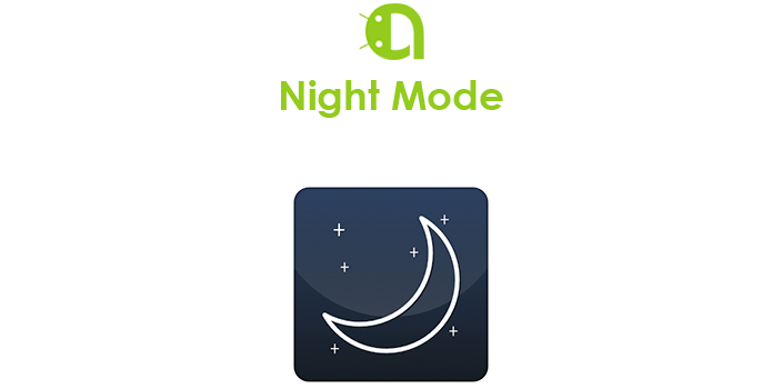 Ночной режим в Android
